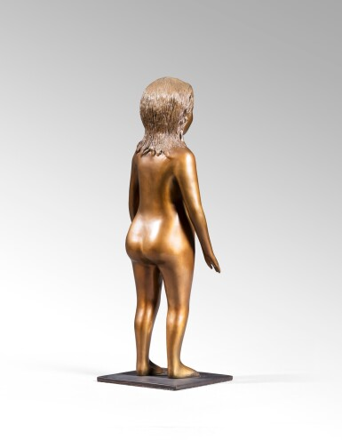 View 3. Thumbnail of Lot 16. Untitled (Standing nude).