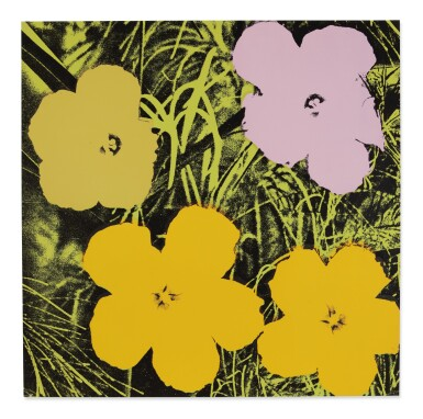View 5. Thumbnail of Lot 63. ANDY WARHOL | FLOWERS (F. & S. II.64-73).