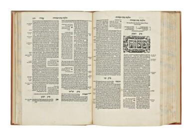 View 4. Thumbnail of Lot 162. SEFER HA-MITSVOT (BOOK OF THE COMMANDMENTS) AND MISHNEH TORAH (HALAKHIC CODE), RABBI MOSES MAIMONIDES, VENICE: MARCO ANTONIO GIUSTINIANI, 1550-1551.