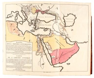 View 1. Thumbnail of Lot 303. Marsigli, Stato militare dell'imperio Ottomano, The Hague, 1732, contemporary calf.