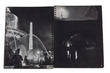 View 2. Thumbnail of Lot 63. (book) Paris de Nuit, 1932.