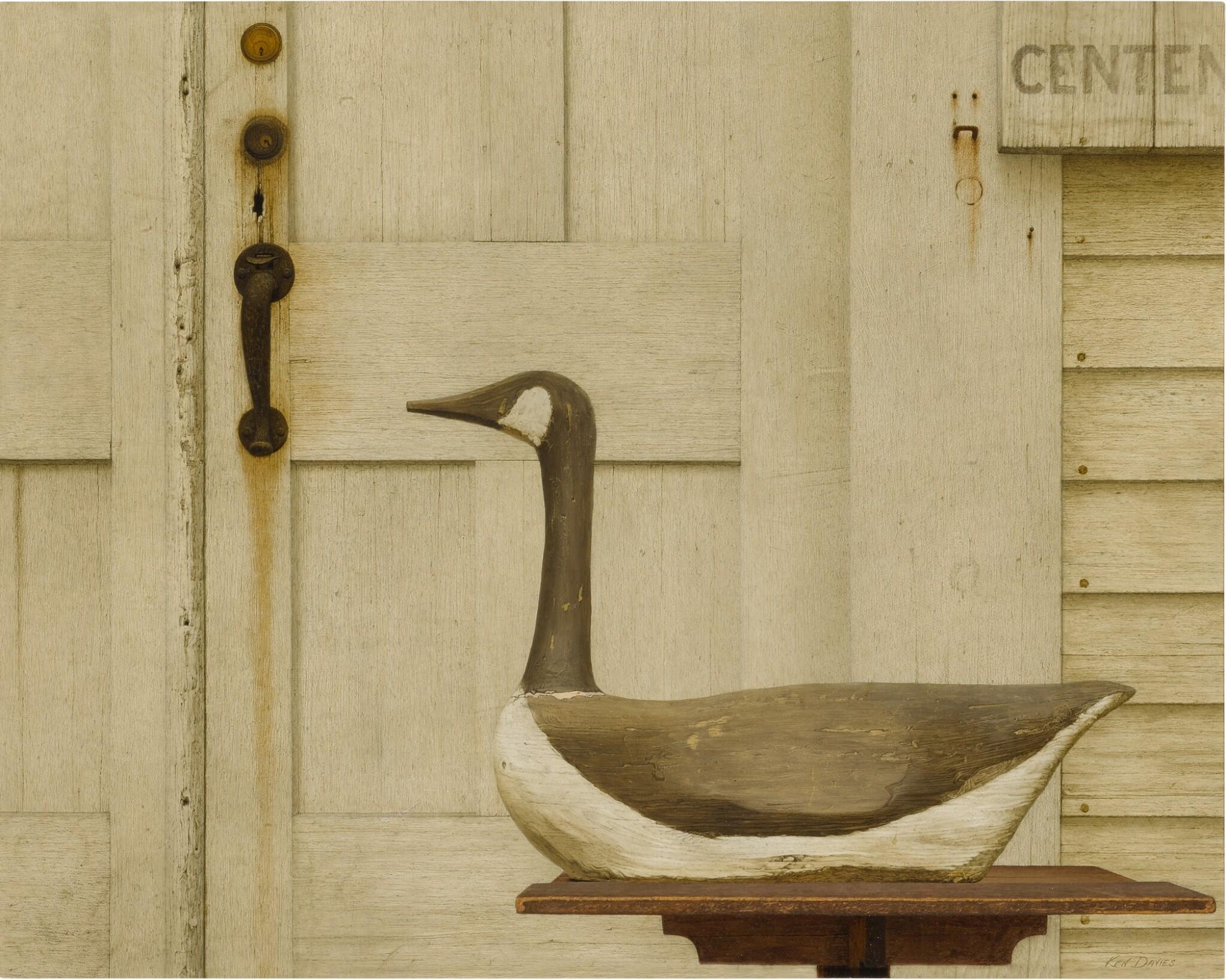 View 1 of Lot 152. Antique Sale (Canadian Goose Decoy).