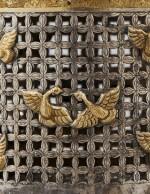 A CHINESE PARCEL-GILT SILVER COVERED BASKET, 19TH CENTURY | PANIER COUVERT EN ARGENT ET VERMEIL, CHINE, XIXE SIÈCLE