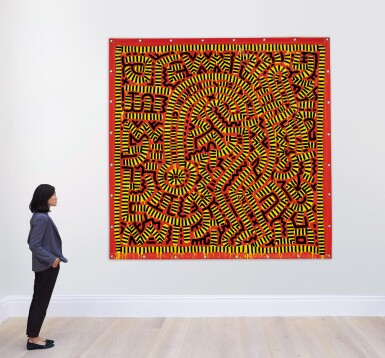 View 3. Thumbnail of Lot 422. KEITH HARING   UNTITLED.