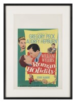 Roman Holiday (1953) poster, US