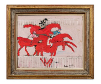 View 2. Thumbnail of Lot 44. Les chevaux rouges.