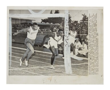 View 12. Thumbnail of Lot 8. Bill Bowerman (Nike Co-Founder) Handmade Prototype Logo Track Spikes With Waffle Sole.