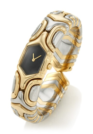 LADY'S BANGLE-WATCH 'ALVEARE' (BRACCIALE-OROLOGIO DA DONNA), BULGARI