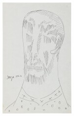 FRANCIS NEWTON SOUZA | UNTITLED (BEARDED MAN)