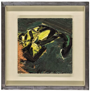 View 2. Thumbnail of Lot 45. FRANK AUERBACH  |  RECLINING HEAD OF J.Y.M..