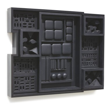 View 3. Thumbnail of Lot 405. LOUISE NEVELSON | NIGHT ZAG IV.