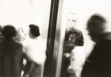 ROBERT FRANK | ELEVATOR, MIAMI BEACH HOTEL, 1955