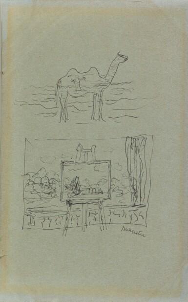 View 1. Thumbnail of Lot 60. Chameau et fenêtre.