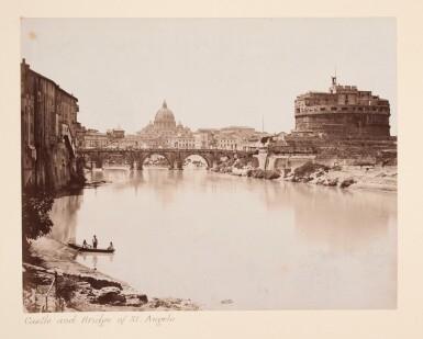 View 1. Thumbnail of Lot 96. Rome   Marion & Co., album of 78 photographs, [c.1870s-1880s].