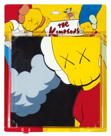 View 1. Thumbnail of Lot 46. KAWS | UNTITLED (KIMPSONS) (Package Painting Series) 無題(KIMPSONS)(包裝畫系列).