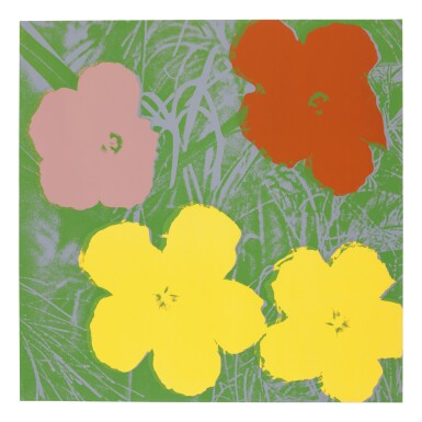 View 3. Thumbnail of Lot 63. ANDY WARHOL | FLOWERS (F. & S. II.64-73).