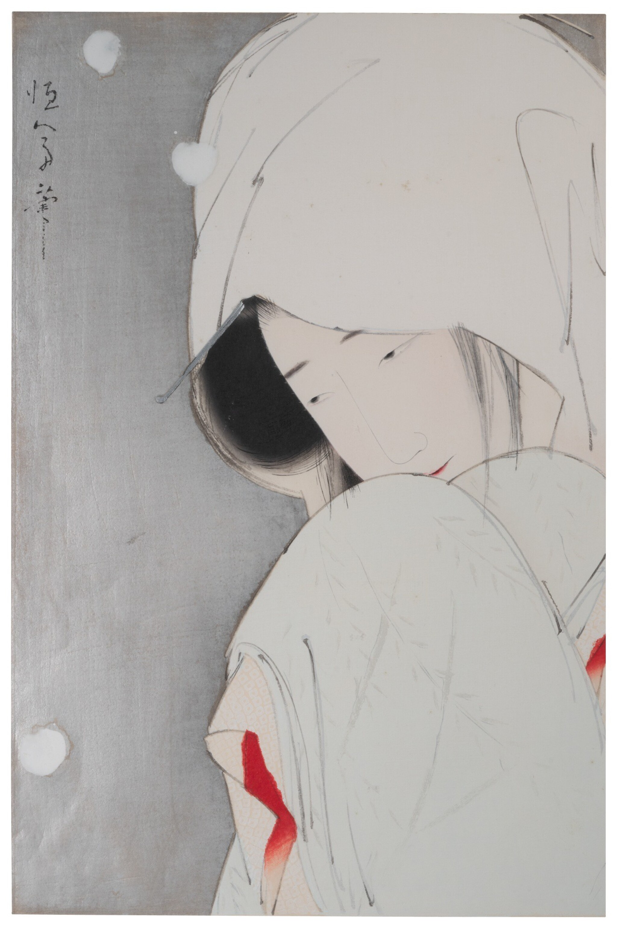 KITANO TSUNETOMI (1880–1947), TAISHŌ PERIOD, EARLY 20TH CENTURY | THE HERON MAIDEN (SAGI MUSUME)