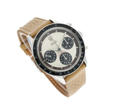 View 4. Thumbnail of Lot 14. Reference 6241 'Paul Newman' Daytona A stainless steel chronograph wristwatch, Circa 1968.