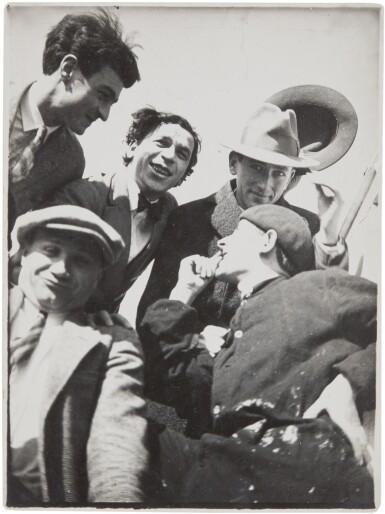 View 1. Thumbnail of Lot 33.  T. LUX FEININGER   THE BAUHAUS BAND (HEINRICH KOCH, HERMANN CLEMENS RÖSELER, WERNER JACKSON, ALEXANDER 'XANTI' SCHAWINSKY, MARCEL BREUER).