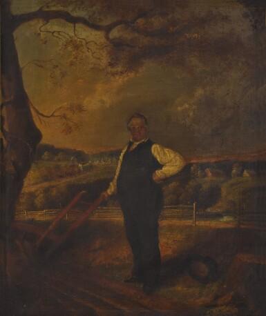 View 2. Thumbnail of Lot 17. John F. Francis, Portrait of Joseph Ritner.