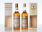 Port Ellen Gordon & MacPhail Connoisseurs Choice 40.0 abv 1981 (1 BT70) & Port Ellen Gordon & MacPhail Connoisseurs Choice 40.0 abv 1980 (1 BT70)