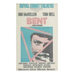 POSTER FOR THE ORIGINAL PRODUCTION OF MARTIN SHERMAN'S BENT