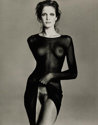View 1. Thumbnail of Lot 24. RICHARD AVEDON | 'STEPHANIE SEYMOUR, MODEL', NEW YORK CITY, 1992.