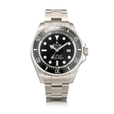 View 1. Thumbnail of Lot 8033. Rolex | Sea-Dweller Deepsea, Reference 116660, A stainless steel wristwatch with date and bracelet, Circa 2010 | 勞力士 | Sea-Dweller Deepsea 型號116660   精鋼鏈帶腕錶,備日期顯示,約2010年製.
