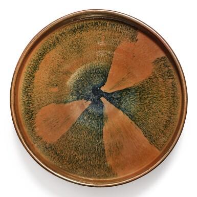 View 1. Thumbnail of Lot 103. A russet-splashed black-glazed bowl, Jin / Yuan dynasty | 金 / 元 黑釉醬斑盌.