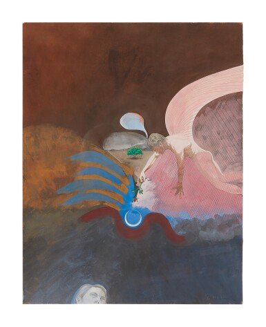 View 1. Thumbnail of Lot 415. PAUL WONNER | ILLUSTRATIONS FOR POEMS OF ST. JOHN OF THE CROSS: ON THE IMMACULATE CONCEPTION .