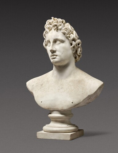 View 2. Thumbnail of Lot 116. Italian, probably 17th century | Bust of Helios Alexander.