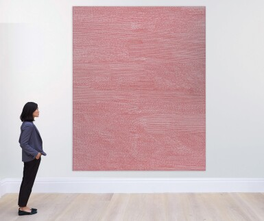 View 3. Thumbnail of Lot 11. JENNIFER GUIDI | UNTITLED (FIELD SF #4, RED AND LILAC).