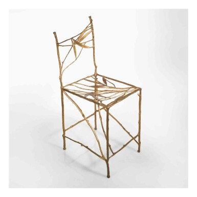 "View 1. Thumbnail of Lot 444. ""Bambou"" Chair."