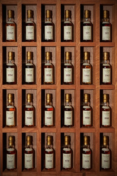 View 3. Thumbnail of Lot 161. THE MACALLAN FINE & RARE MINIATURE COLLECTION          .