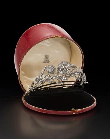 View 7. Thumbnail of Lot 1655. DIAMOND TIARA,POSSIBLY CARRINGTON & CO., LATE 19TH CENTURY | 鑽石冠冕 , Possibly Carrington & Co., 19 世紀晚期.