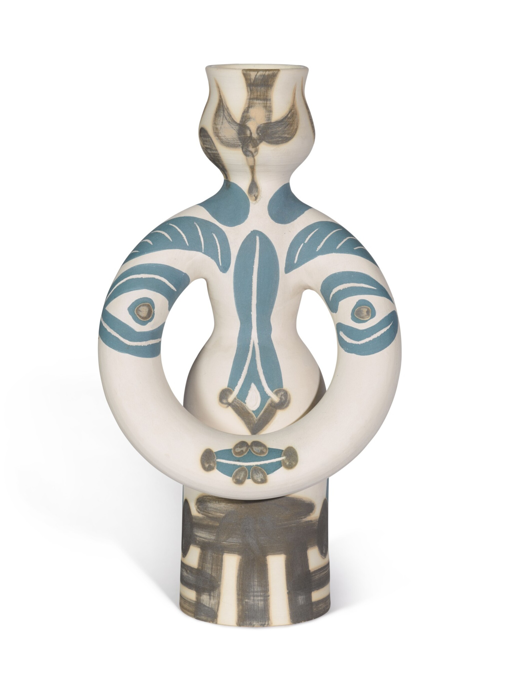 View full screen - View 1 of Lot 38.  PABLO PICASSO | LAMPE FEMME (A. R. 299).