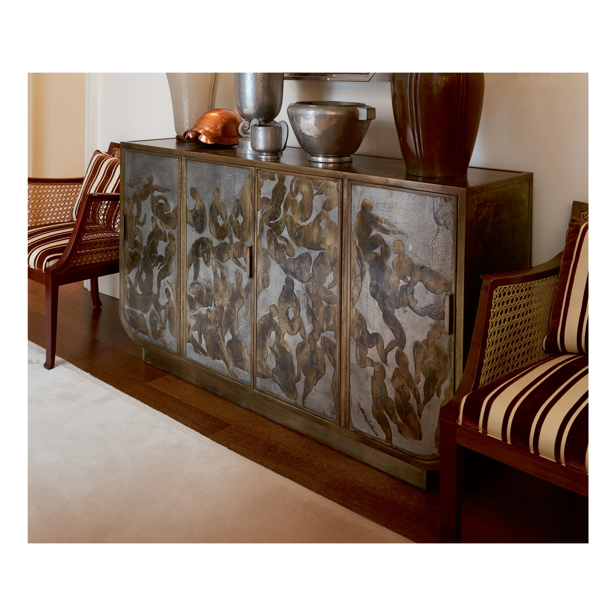 "PHILIP AND KELVIN LAVERNE | ""BATHERS"" SIDEBOARD"