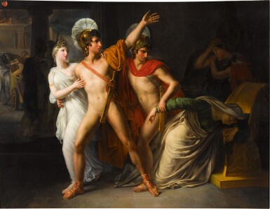 View 1. Thumbnail of Lot 66. Castor and Pollux saving Helen.
