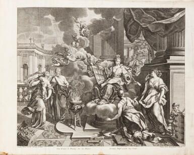 View 2. Thumbnail of Lot 55. Fürstlicher Baumeister... Augsbourg, 1711-1716. In-folio oblong. Edition originale.