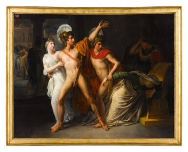 View 2. Thumbnail of Lot 66. Castor and Pollux saving Helen.