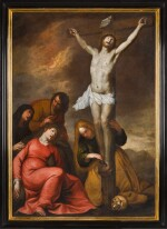 FLEMISH SCHOOL, 17TH CENTURY   The Crucifixion