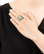 BAGUE EMERAUDES ET DIAMANTS | EMERALD AND DIAMOND RING