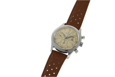 View 2. Thumbnail of Lot 212. RODANIA  | REFERENCE 5621H A STAINLESS STEEL CHRONOGRAPH WRISTWATCH, CIRCA 1965.