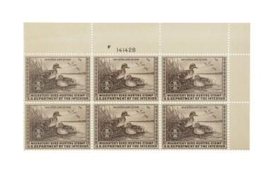 Hunting Permits 1939 $1.00 Chocolate (RW6)
