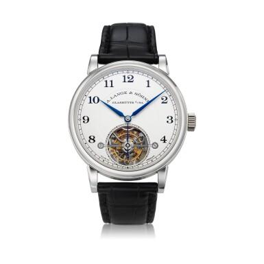 View 1. Thumbnail of Lot 297. Reference 730.025F 1815 Tourbillon  A limited edition platinum tourbillon wristwatch with zero-reset mechanism, Circa 2016.
