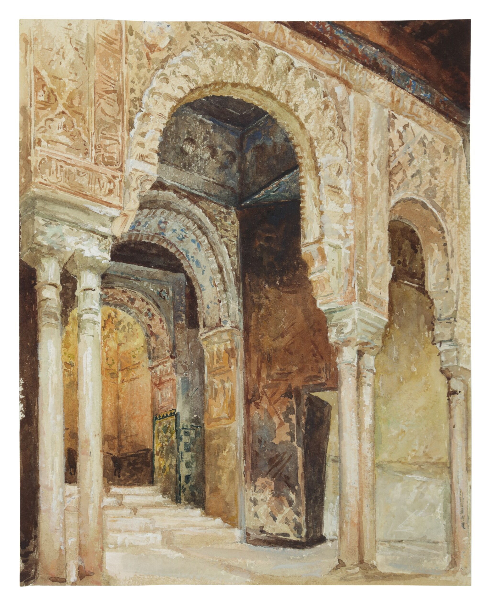 View full screen - View 1 of Lot 23. The Alhambra, Granada (after Henri Regnault).
