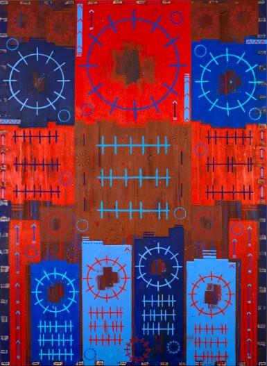 View 1. Thumbnail of Lot 22. Âme Colorée (Colorful Soul) .