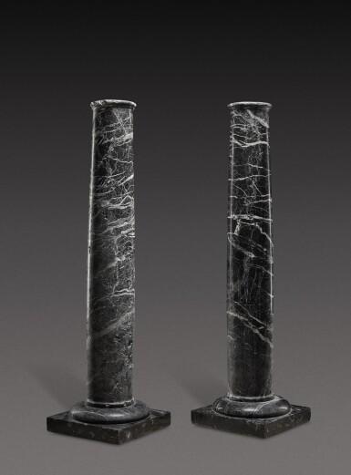 View 2. Thumbnail of Lot 155. Italian, 19th century | Pair of Columns.