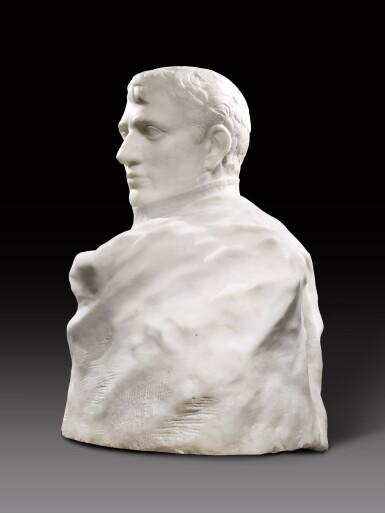 View 10. Thumbnail of Lot 1016. Auguste Rodin 奧古斯特・羅丹 | Napoléon Enveloppé dans Son Réve 逐夢的拿破崙.