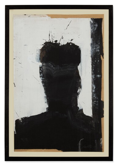 View 1. Thumbnail of Lot 3. RICHARD HAMBLETON | SHADOW HEAD PORTRAIT, 2002-2003..
